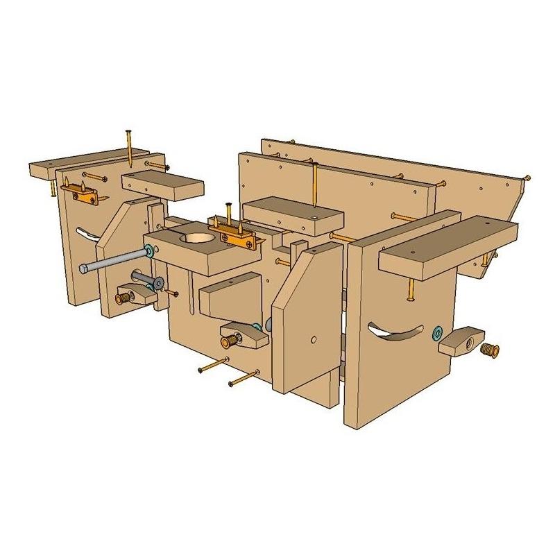 Planos portable workshop for Planos carpinteria