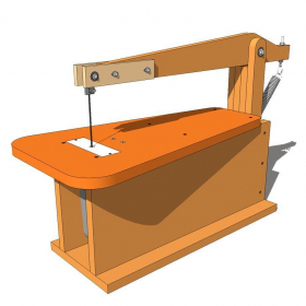 Make Your Own Scroll Saw