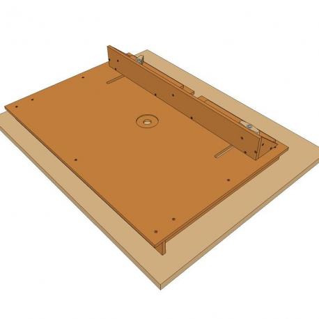 Planos mesa para taladro de columna for Planos de carpinteria
