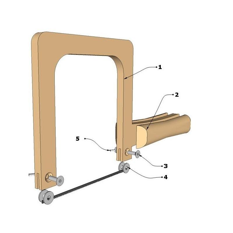 Planos sierra de marqueter a manual for Planos de carpinteria