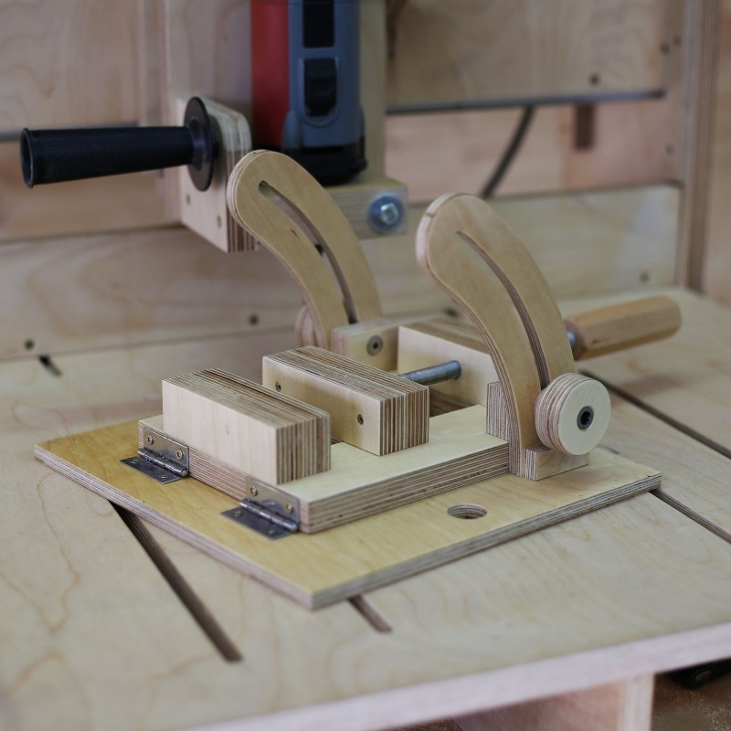 Angle Drill Press Vise Plans
