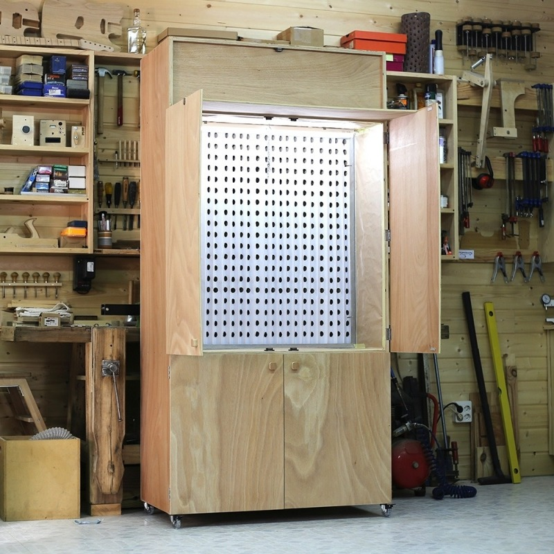 Portable Spray Booth & Air Cleaner Plans