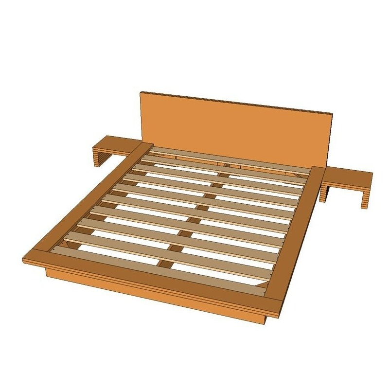 Tatami Bed Frame Plans - Tatami Bed Plans Standard Frame, Pin By Oskari Aro On For The Home ...