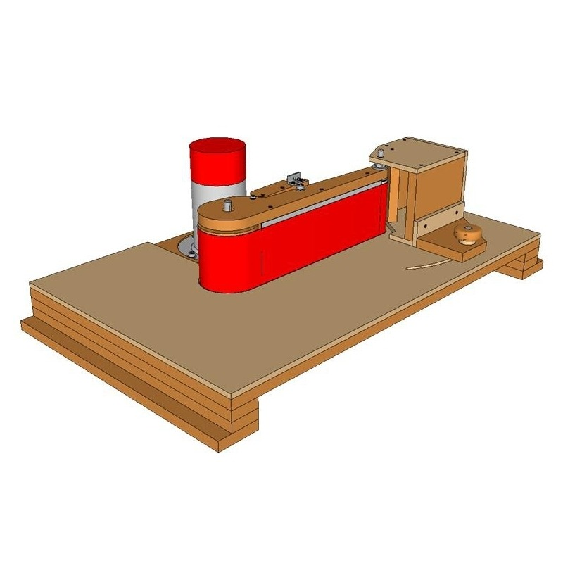 Edge Belt Sander Table Plans