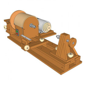 Lathe & Disc Sander Plans