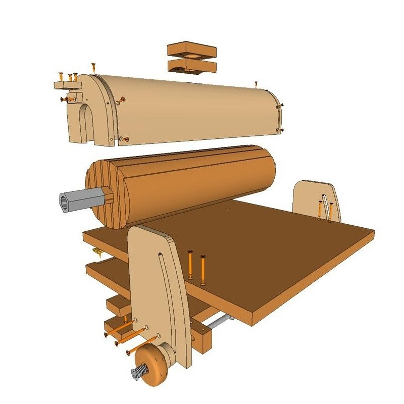 Sanding Station Plans / Belt Sander and Thickness Sander