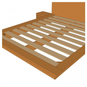 Tatami Bed Wood Frame Plans
