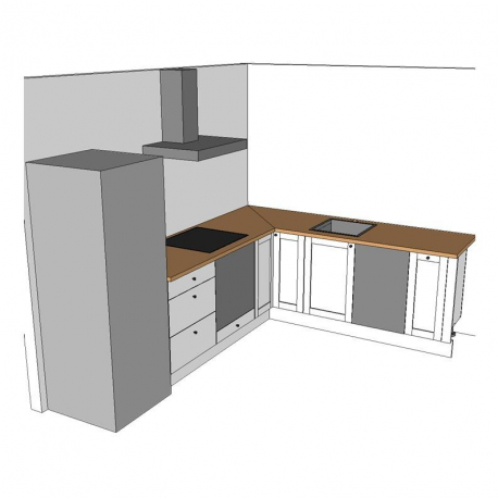 European Style Kitchen Plans