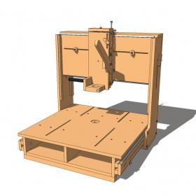 Planos 3D Router