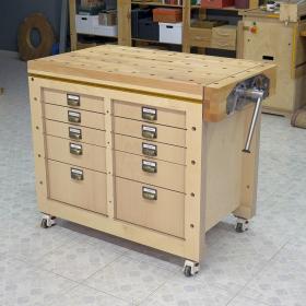 Modular Workbench & Mobile Tool Stand Plans