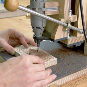 Rotary Tool Workstation Plans