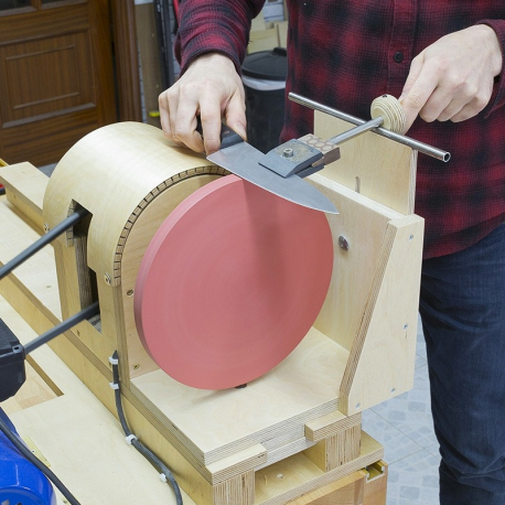 Knife Sharpening Lathe Attachment Plans