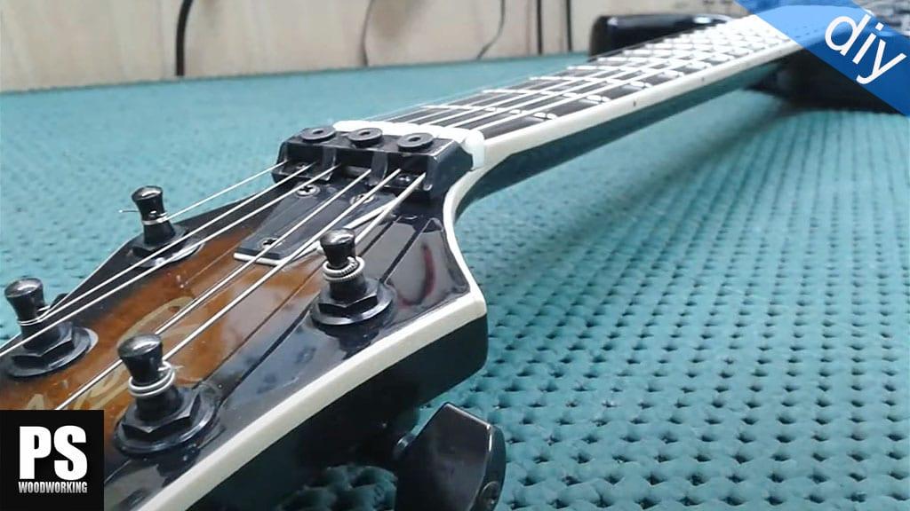 Cómo reparar diapasón y binding a una guitarra