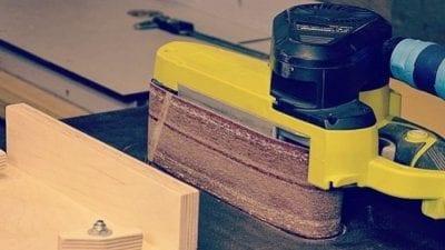 DIY Belt Sander Table
