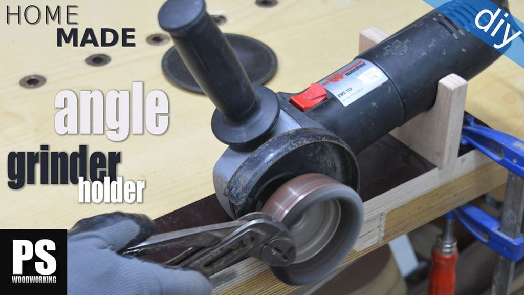 Homemade Angle Grinder Holder