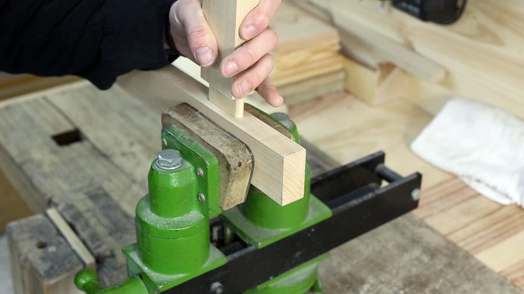 How-make-diy-mortise-tenon-joint-maple-carpentry