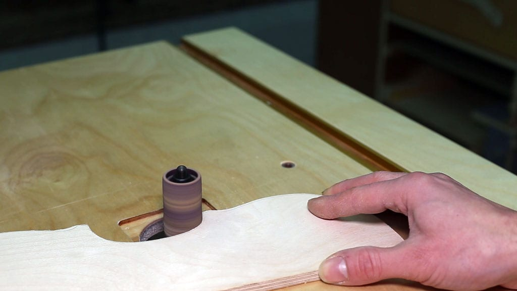 How-use-sanding-drums-table-saw-woodworking