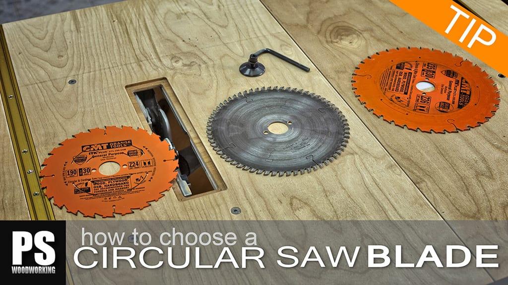 Cómo elegir disco para tu sierra circular