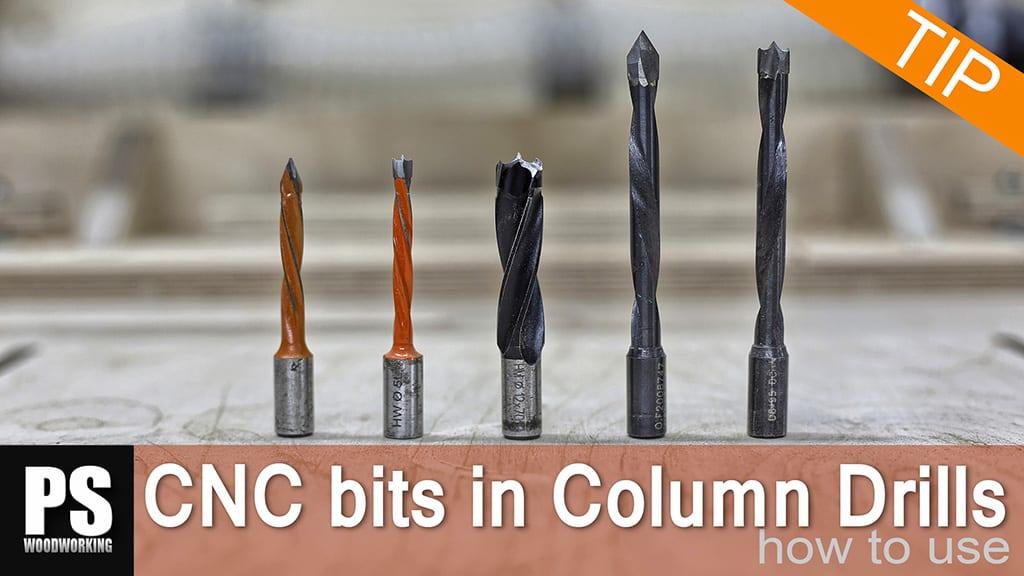 Cómo usar Brocas CNC en un Taladro de Columna