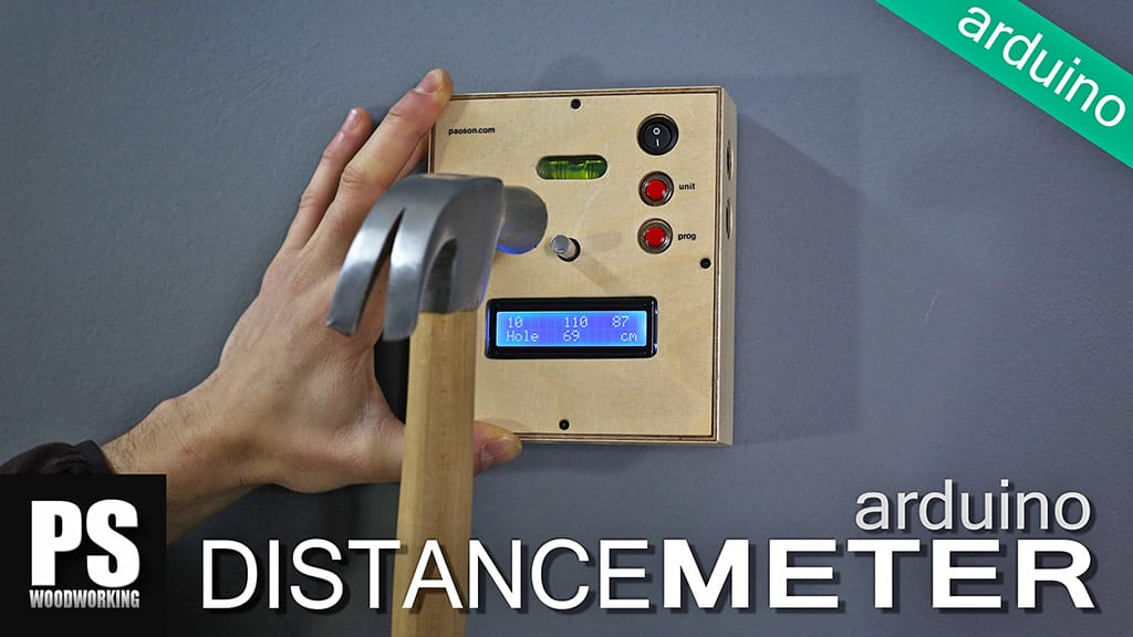 Homemade-arduino-distance-meter-carpentry