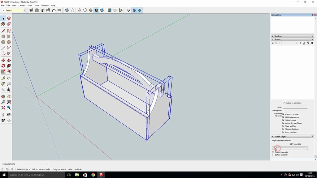 Layout-sketchup-printing-diy-plans-several-pages