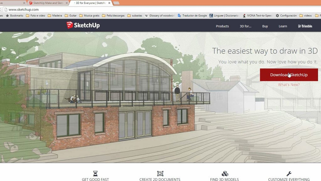 How-install-Sketchup-beginners