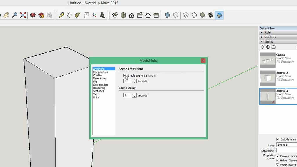 How-use-sketchup-tutorial-animation-beginners