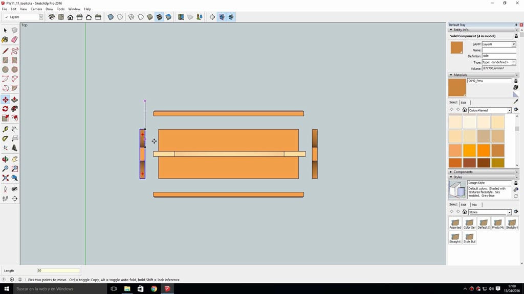 Layout-sketchup-plans-several-pages