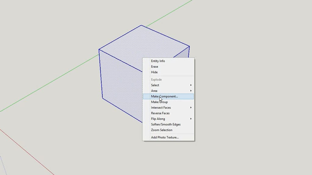 How-use-sketchup-tutorial-component-beginners
