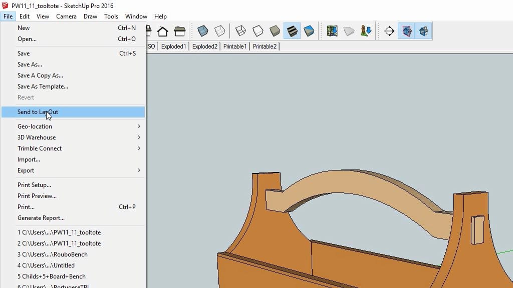 sketchup-send-layout-printing-woodworking-plans