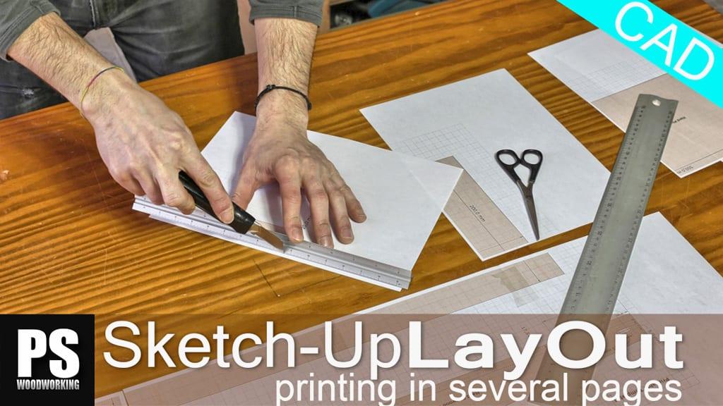 Layout-sketchUp-printing-several-pages