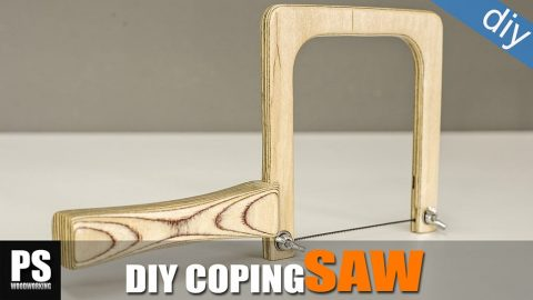 Homemade-plywood-coping-saw