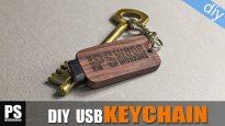 Diy-laser-engraved-logo-usb-keychain