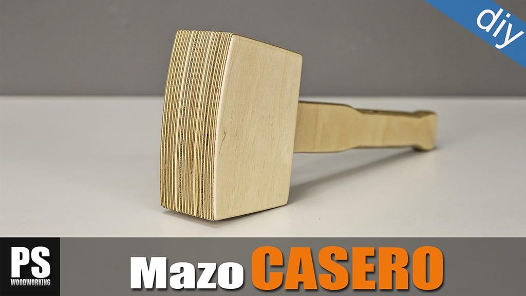 Mazo De Contrachapado Casero