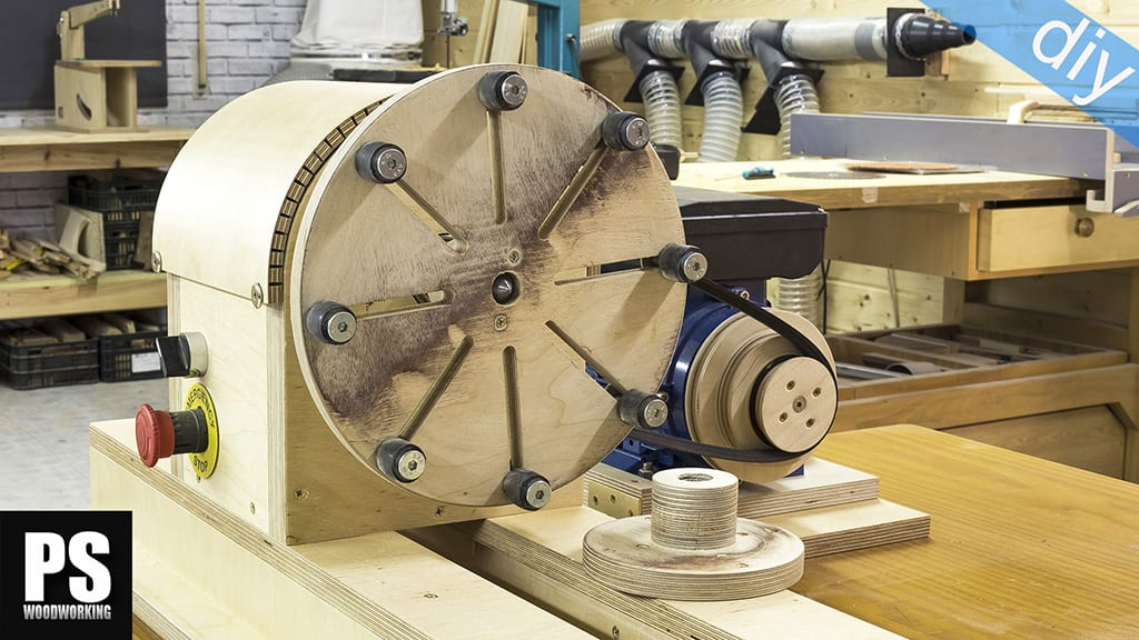 DIY Lathe Adjustable Chuck & Faceplate