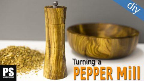 Turning-diy-pepper-mill