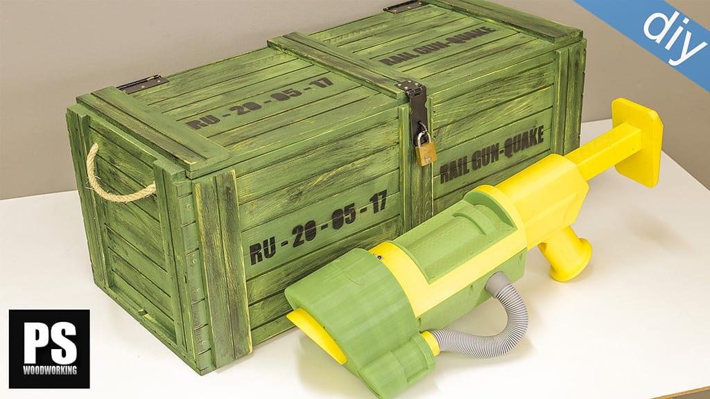 Cómo hacer una caja de estilo militar