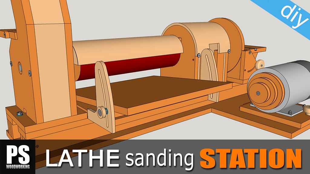 Lathe Sanding Station: Thickness Sander