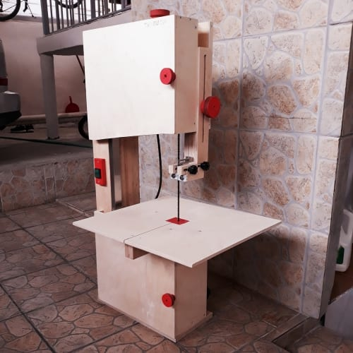 Homemade BandSaw from Greece 2 - Band Saw Readers Projects