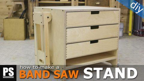 Homemade-band-saw-stand