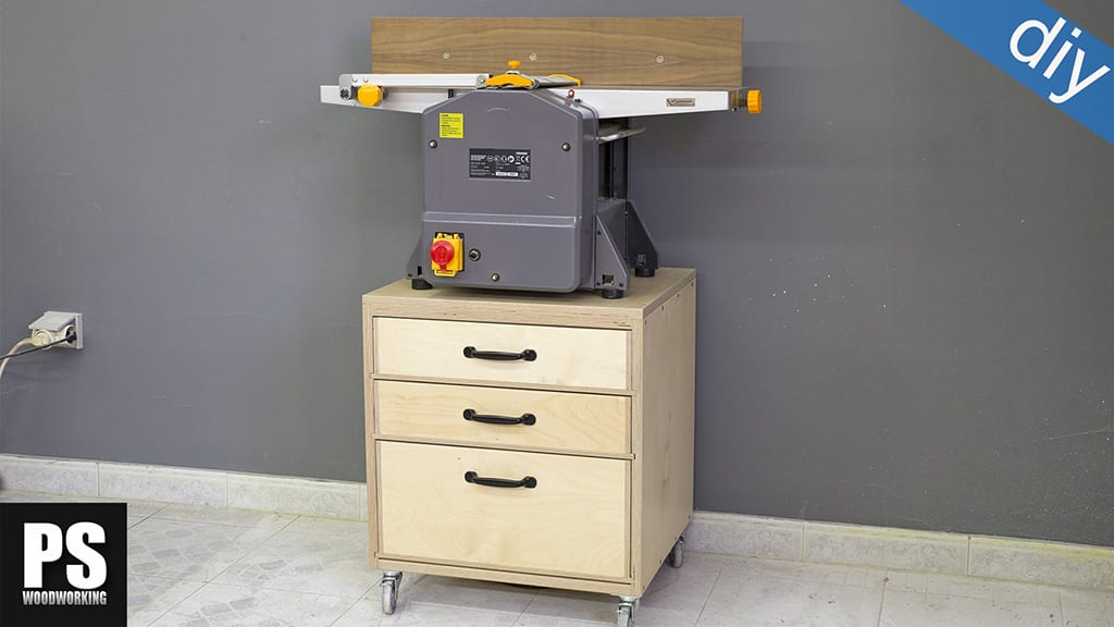 Homemade Jointer and Planer Stand