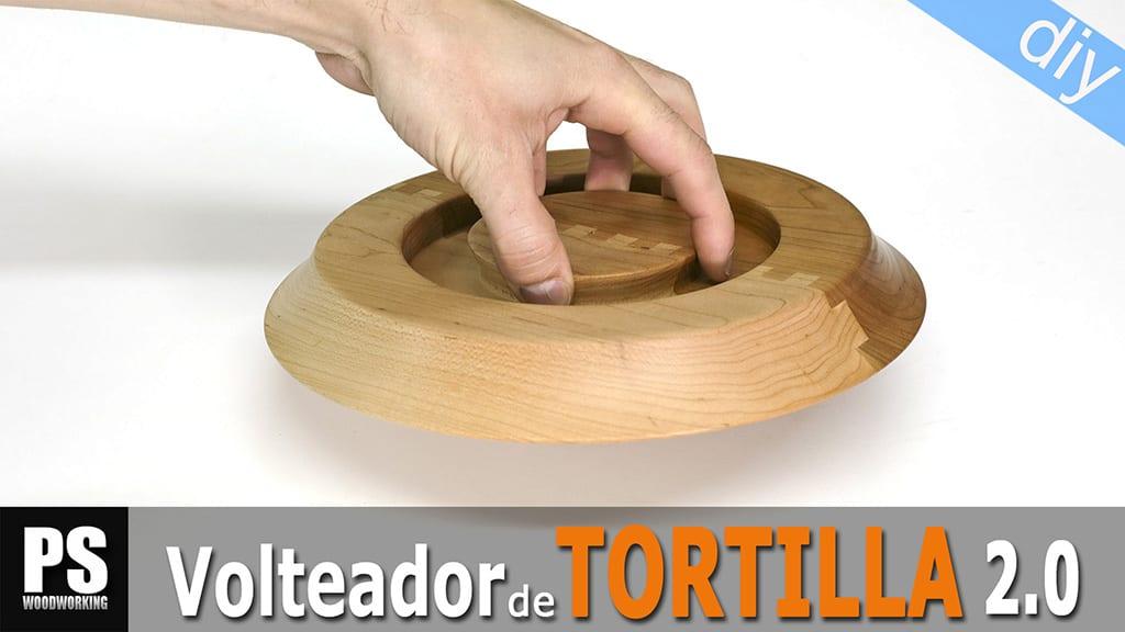 Volteador de Tortillas 2.0 Casero
