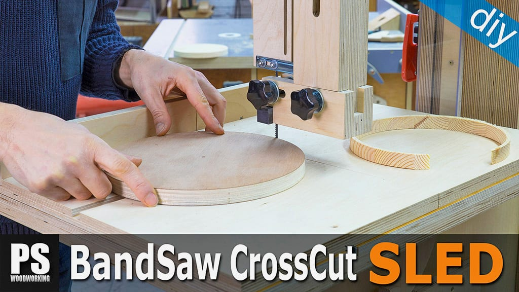 Cross Cut Sled & Circle Jig for the Band Saw