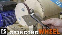 Homemade-lathe-grinding-wheel