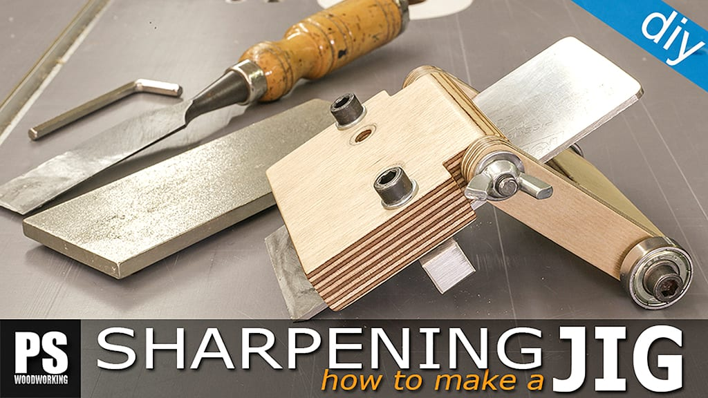Homemade Chisels Sharpening Jig