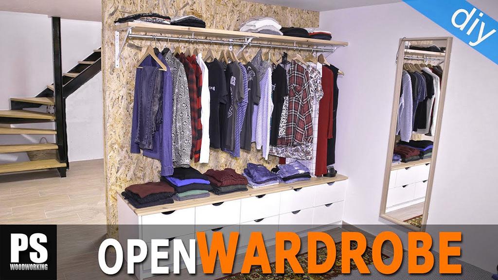 How-make-diy-open-wardrove