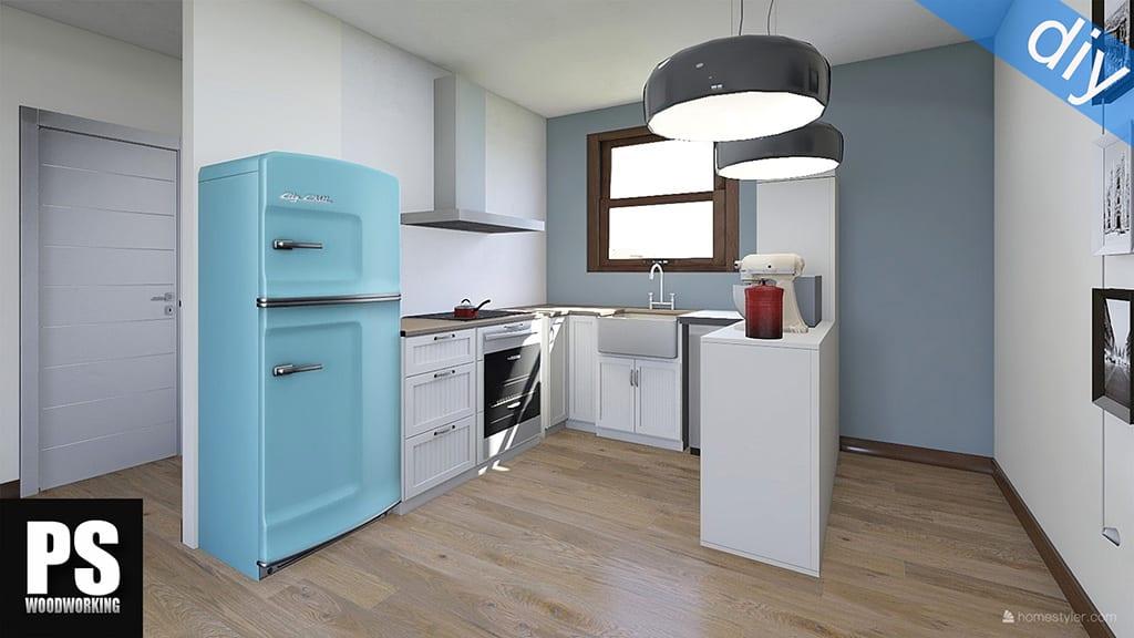 Cómo hace una cocina de estilo Europeo