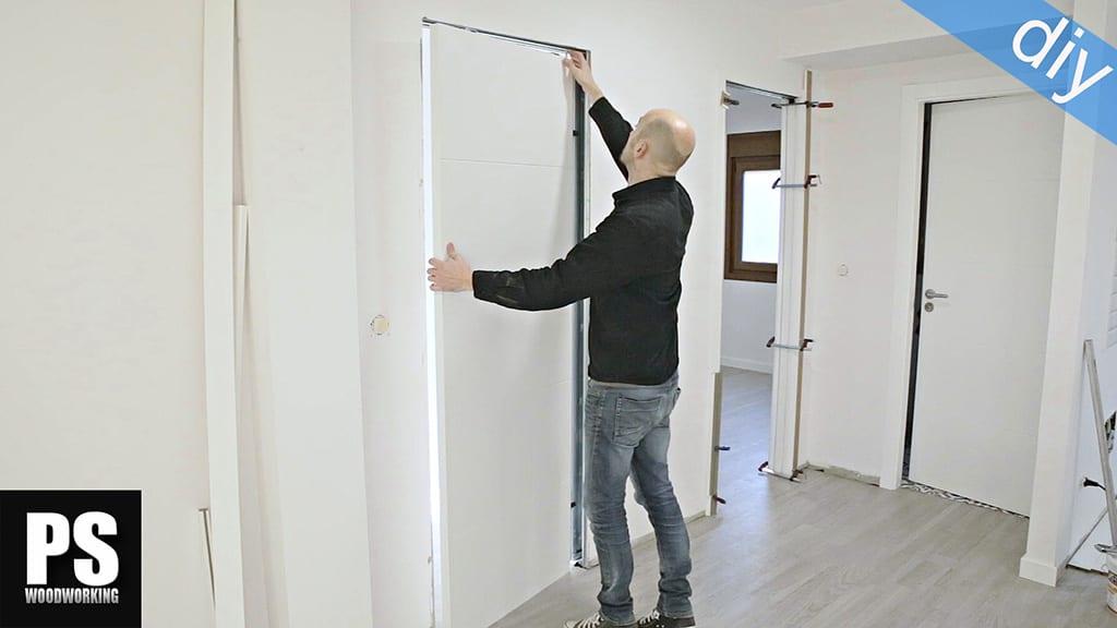 Cómo Instalar una Puerta Corredera Empotrada