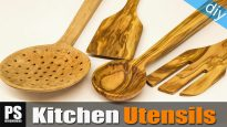 Homemade-olive-kitchen-utensils