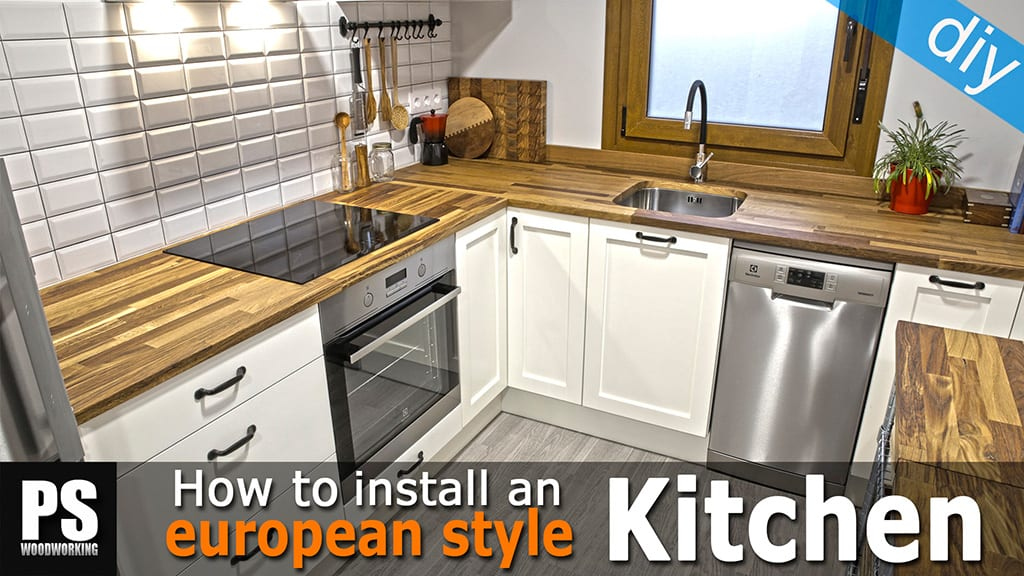 How to Install an European Style Kitchen